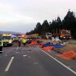 DANTESCO ACCIDENTE EN RUTA ANGOL- LOS SAUCES EN MALLECO